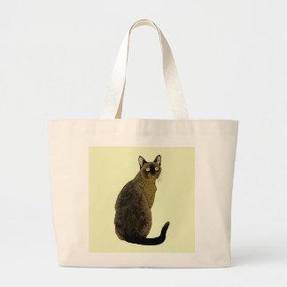 Burmese Cat Canvas Bag