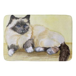 Burmese Cat Sealpoint Bath Mats
