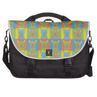 Burmese Pop-Art Commuter Bag