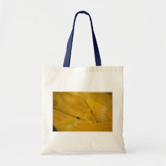 Burmese Python Canvas Bag