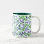Burmese script coffee mug
