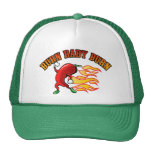 Burn Baby $18.95 (11 colours) Truckers Hat