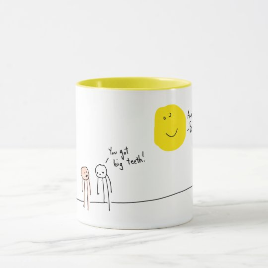 """Burn"" Corny Joke Coffee Mug"