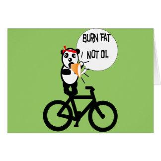 Burn Fat Not Oil Cards