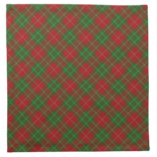 Burnett Scottish Clan Tartan Napkins