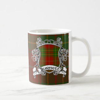 Burnett Tartan Shield Coffee Mug