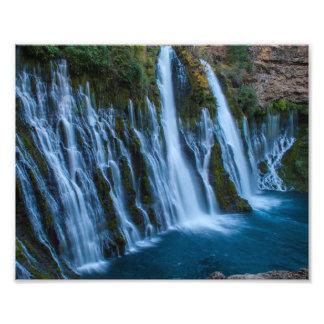 Burney Falls in Northern California Photo