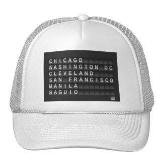 Burnham Planned Bold Star Logo Trucker Hat