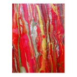 BURNING ABSTRACTION - POST CARD
