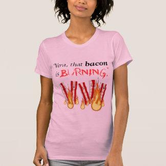 Burning bacon T-Shirt