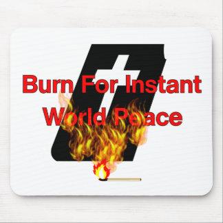 Burning Bible Mouse Pad
