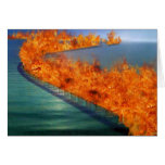 Burning Bridges: Permanently Inaccessible Greeting Cards