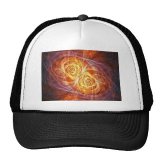 Burning butterfly hat