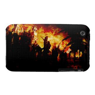 Burning City iphone 3 cases