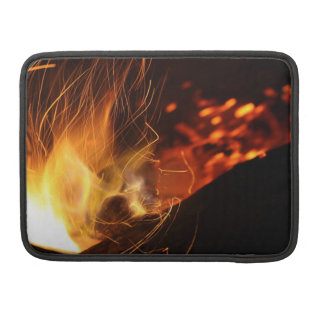 Burning Coal Fire Sleeve For MacBook Pro