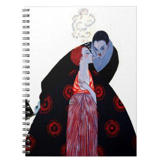Burning Desire 1919 Spiral Notebook