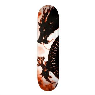 Burning Dragon Man Zero Element Custom Pro Board 21.6 Cm Skateboard Deck