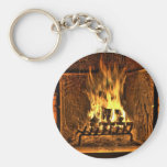 Burning Fire Key Chain