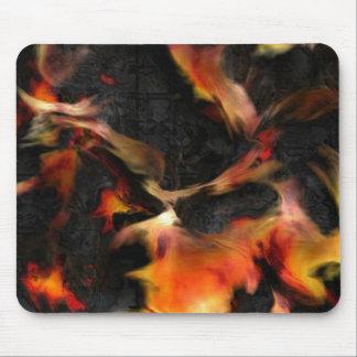 Burning Flames Mouse Mat