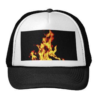Burning hat cap