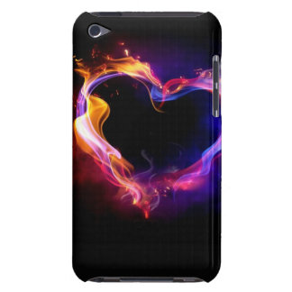 Burning Heart Barely There iPod Covers