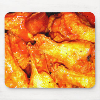 Burning Hot Saucy Wings Mouse Mat