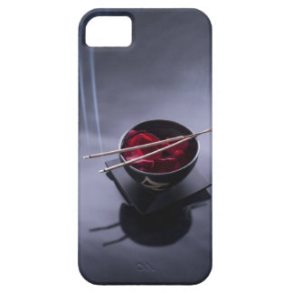 Burning incense on top of bowl of petals barely there iPhone 5 case