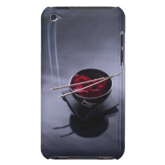 Burning incense on top of bowl of petals iPod touch Case-Mate case