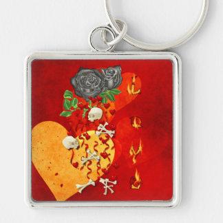 Burning Love Fire Key Chain