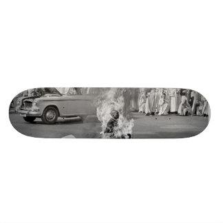 Burning Monk 21.3 Cm Mini Skateboard Deck