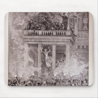 Burning of the Ring Theatre, Vienna Mouse Pad