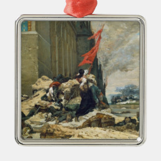 Burning of the Tuileries, 1871 Christmas Ornament