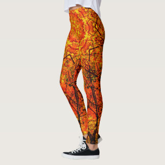 Burning Orange Leggings