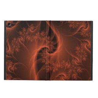 Burning Orange Twist iPad Air Cover