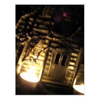 Burning Porch Postcard