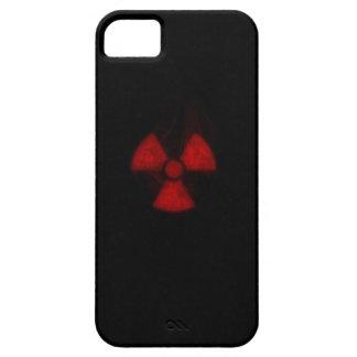burning radioactive iphone case