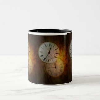 Burning Time Two-Tone Coffee Mug