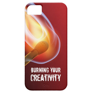 Burning Your Creativity by Matches iPhone 5 Cover