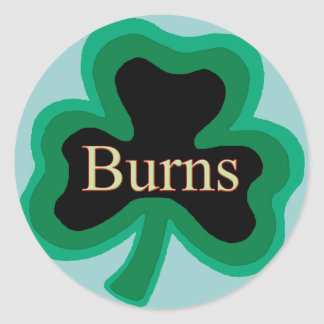 Burns Family Stickers
