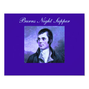 Burns night gifts gift ideas zazzle uk burns night invitation the selkirk grace m4hsunfo