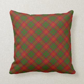 Burns Scottish Clan Tartan Pillow/Cushion Throw Pillow