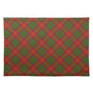 Burns Scottish Clan Tartan Placemats