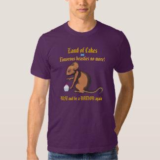 Burns Timorous Beastie No More Scotland T-Shirt