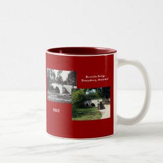 Burnside Bridge--1862 Coffee Mugs