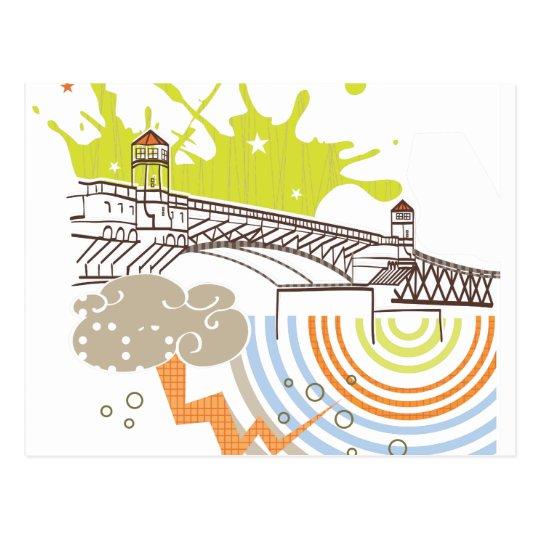 Burnside Bridge Portland Postcard