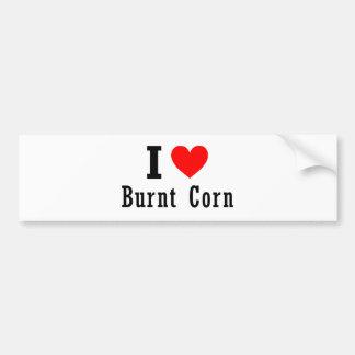 Burnt Corn, Alabama City Design Car Bumper Sticker