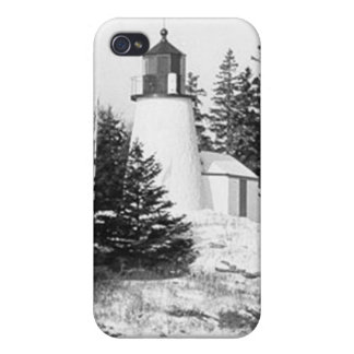 Burnt Island Lighthouse iPhone 4/4S Cases