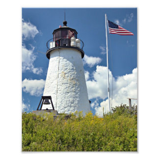 Burnt Island Lighthouse, Maine Photo Print