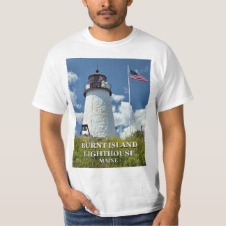 Burnt Island Lighthouse, Maine T-Shirt