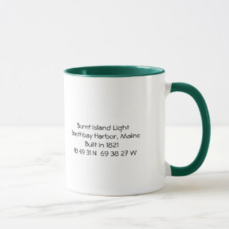 Burnt Island Lighthouse Mug-Maine Mug